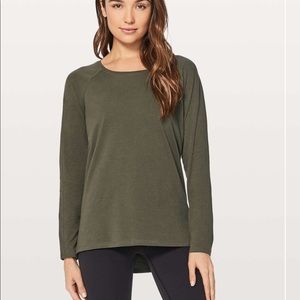 Lululemon Emerald Long Sleeve Tee